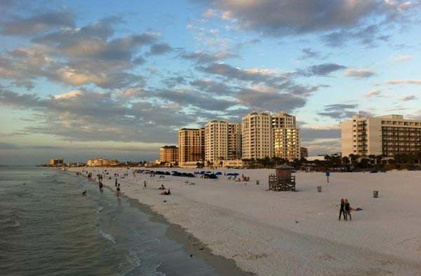 佛罗里达清水湾海滩
